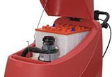 Cofre de baterias en una fregadora